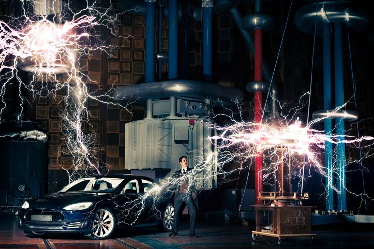 A day with Nikola Tesla